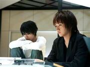 Death Note film- L and Light