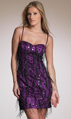 File:2013 sheath sweetheart spaghetti straps sequined feathered short purple homecoming dresses hd-2118 1 .jpg