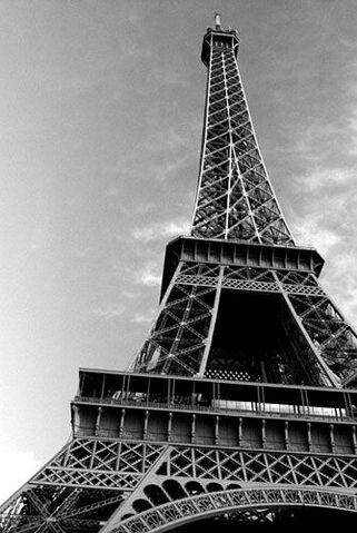 File:Pictures of Eiffel Tower black and white.jpg