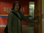 Rick leaving a Rose on Terri's Locker