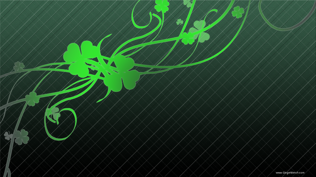 File:Shamrock black background.png