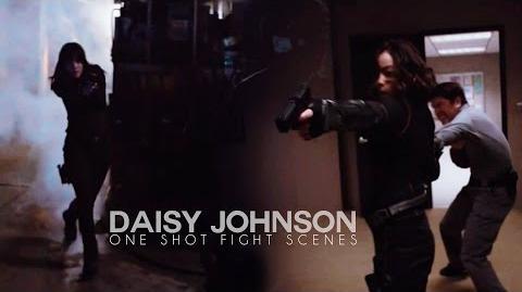 Daisy Johnson badass one-shot fight scenes Agents of Shield