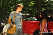 Jake & Alli Talking By His Truck