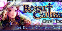 Royal Capital Card Box