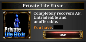 Private Life Elixir