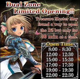 Dragonian Colosseum Duel Zone Opening Times