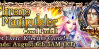 Chrono Manipulator Card Pack II