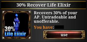 30% Life Elixir