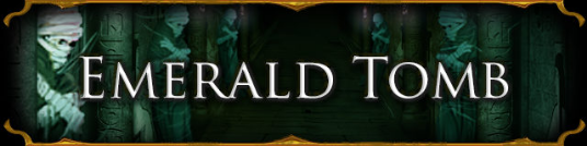 Emerald Tomb Banner