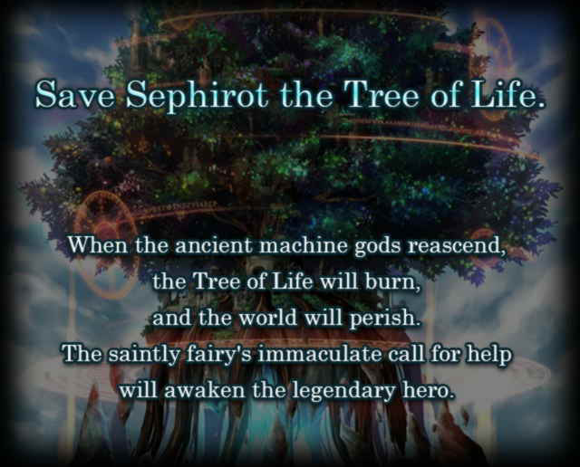 Sephiroth the Tree of Life