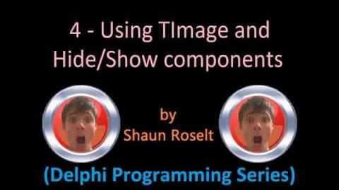 Delphi Programming Series 4 - Using TImage and Hide&Show components