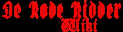 De Rode Ridder Wiki
