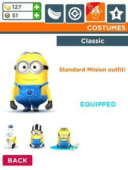 Classic costume