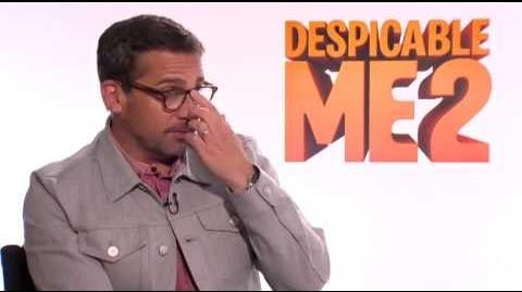 Steve Carell Interview - Despicable Me 2