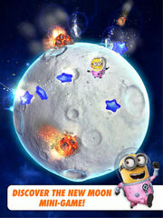 Minion Rush The Moon