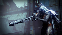 Hunter with a sniper