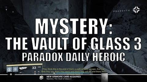 """Destiny - New Dead Ghost """"Mystery The Vault of Glass 3"""""""