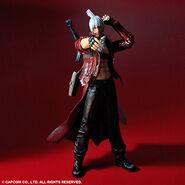 Play Arts Kai DMC3 Dante action figure