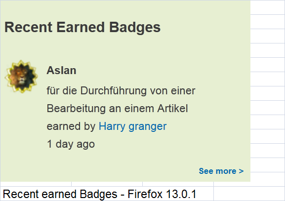 Datei:Recent earned Badges - Firefox 13.0.1.png
