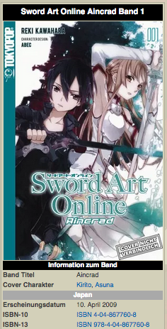 Datei:SAO Wikia Screenshot Infobox LightNovel.png