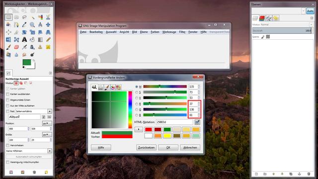 Datei:Von Hex nach RGB mit Gimp 3.png