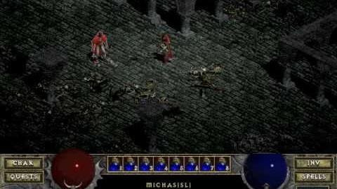 Diablo 1 spells - Heal Other (by Decimius)