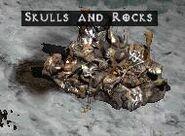 Skulls and Rocks