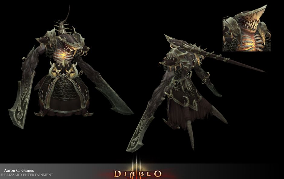Rakanoth (Lord of Despair) - Library of Fate (Act 4) - Diablo 3