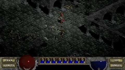 Diablo 1 spells - Healing (by Decimius)