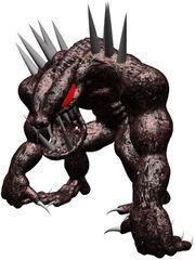 Baboon Demon render