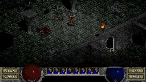 Diablo 1 spells - Telekinesis (by Decimius)