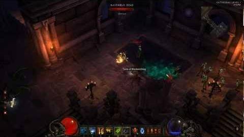 Diablo 3 Witch Doctor Skill - Zombie Charger