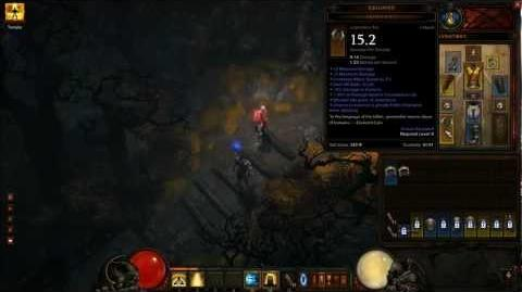 Diablo 3 Legendary Item Proc - Genzaniku (Summon Ghostly Fallen Champion D3 Demo 1080p)