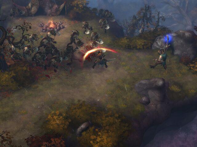 File:Female Barbarian vs Goatmen.jpg
