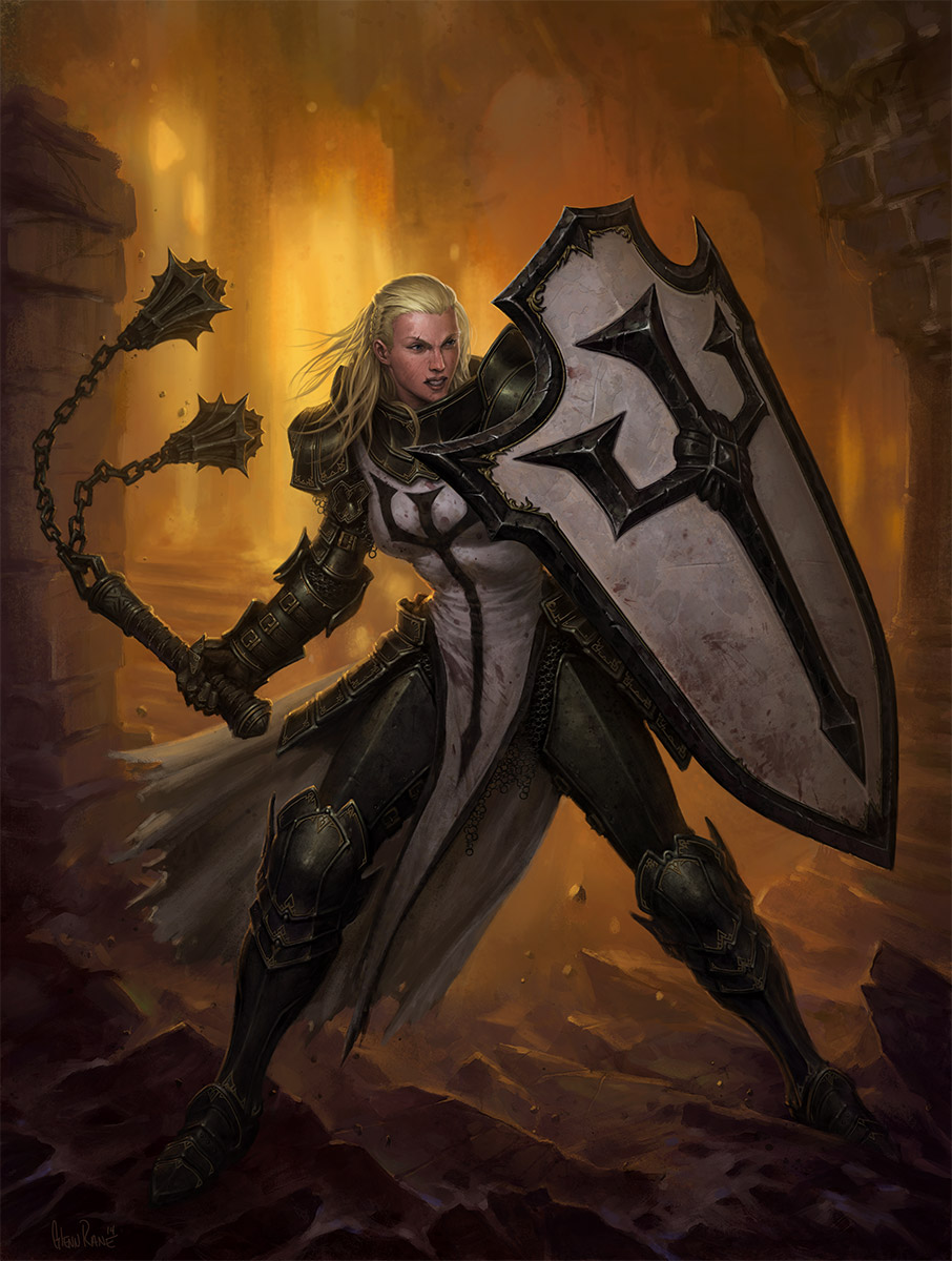 Diablo 3 female crusader porn sexy videos