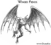 Winged-fiends