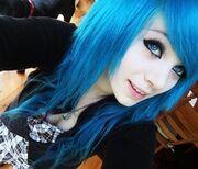 Beautiful,blue,hair,girl-9681b6610393a06f978db8eeff15a247 m
