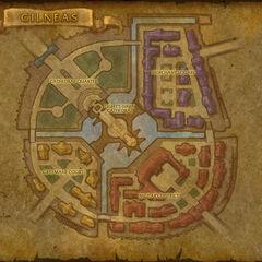 Gilneas, gleichnamige Hauptstadt von Gilneas.
