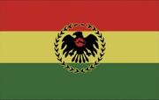 Val Verde prop flag from Die Hard 2