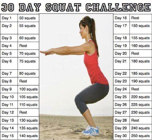 Workout: 30 Day Squat Challenge   Diet Wiki   FANDOM powered by Wikia