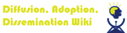 Diffusion Adoption and Dissemination Wiki