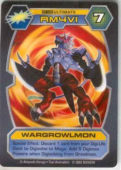WarGrowlmon DT-100 (DT)