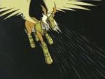 Pegasusmon's Mane Wind AttackAnimation