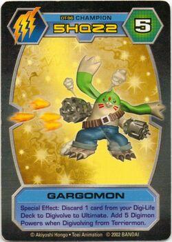 Gargomon DT-96 (DT)