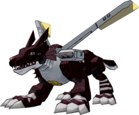MetalGarurumon (Black) dwds