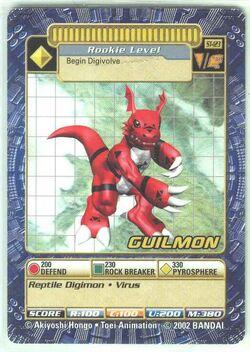 Guilmon St-123 (DB)