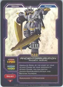 AncientGarurumon DM-167 (DC)