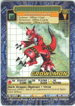 Growlmon Bo-164 (DB)