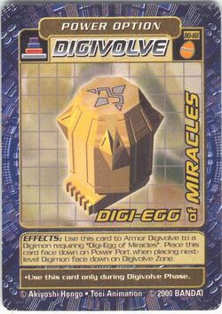 Digi-Egg of Miracles Bo-161 (DB)