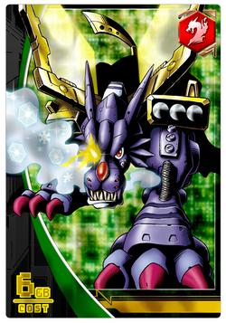 MetalGarurumon 1-025 (DCr)